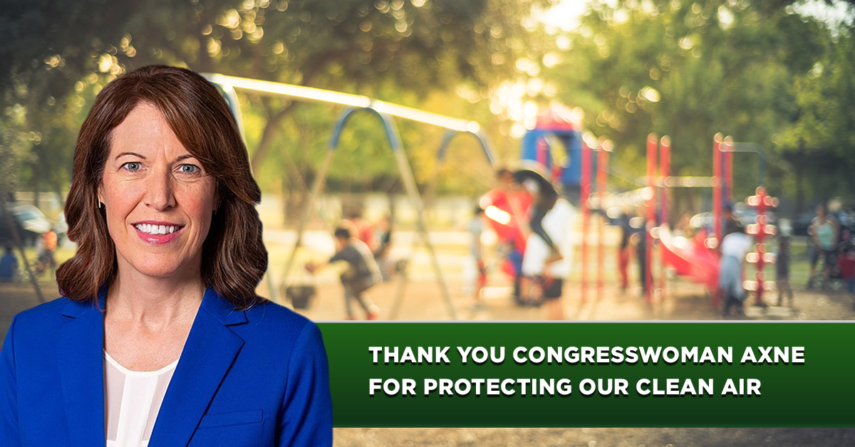 Thank you, Rep. Axne