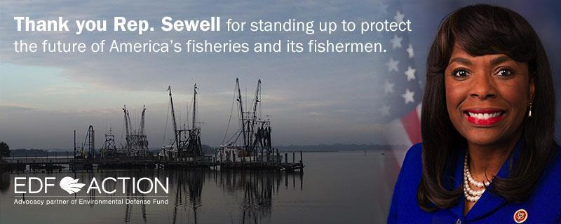Thank You, Rep. Sewell Fisheries