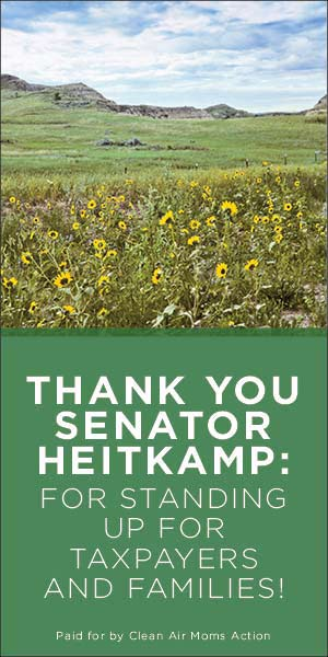 Thank you, Sen. Heitkamp Methane vote