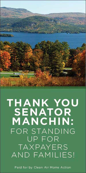 Thank You, Sen. Manchin