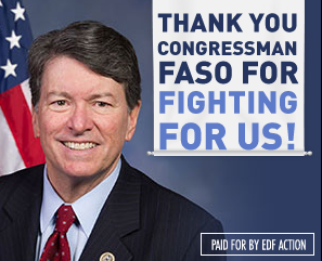 Thank You, Rep. Faso