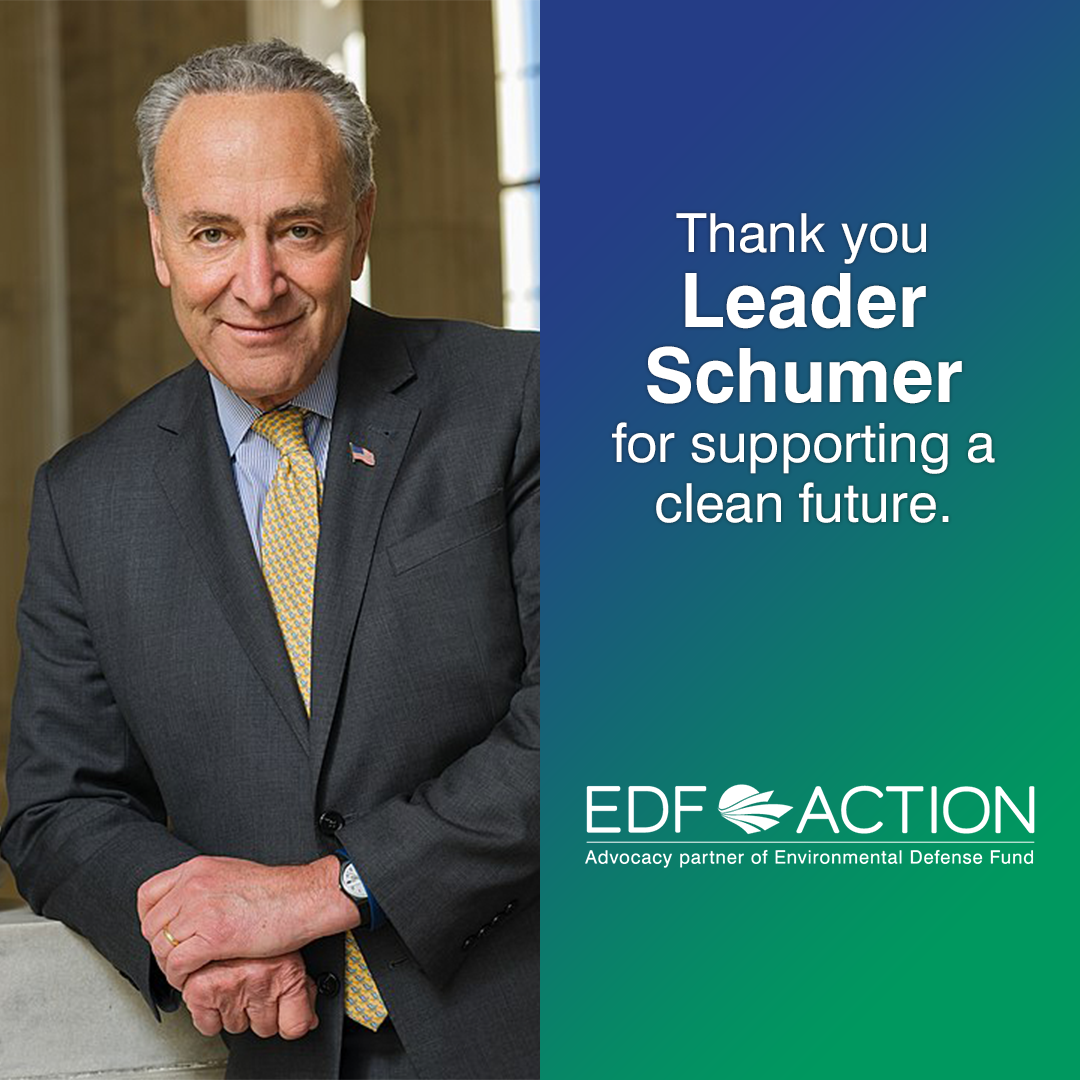 Thank you Leader Schumer