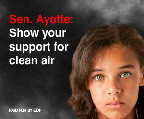 Senator Ayotte, Should we have unlimited pollution