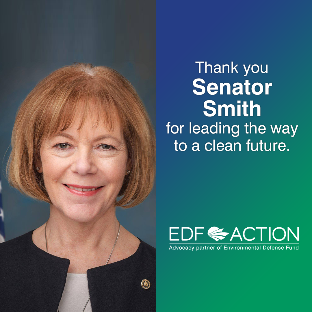 Thank you Senator Smith